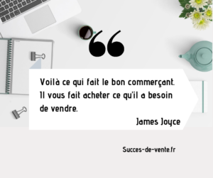 citation conclure une vente commerce